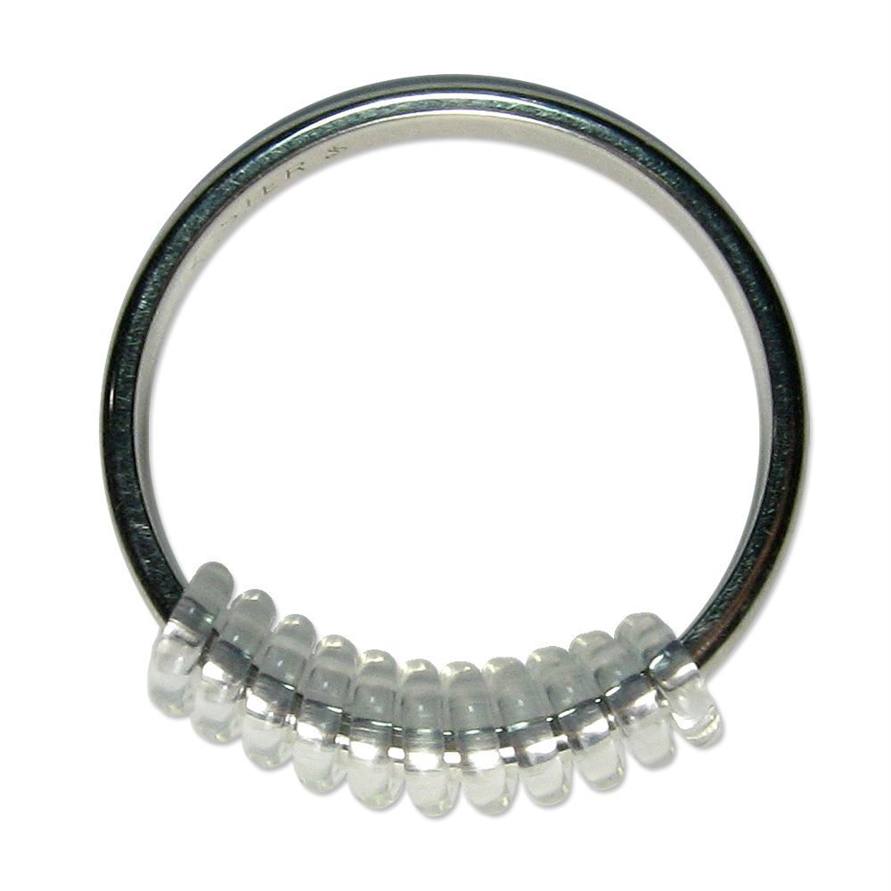3 Pack RingSlinky Ring Guard Ring Size Reducer