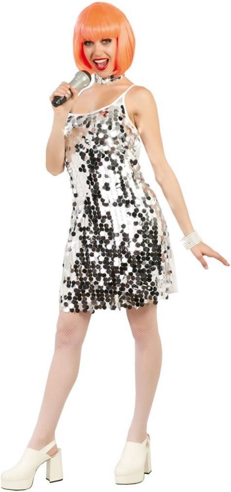 Disfraz de mujer años 60: Amazon.es: Juguetes y juegos