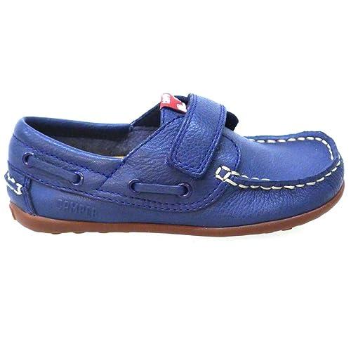 Zapatos Niño Mocasines Naúticos Camper 80080 Azul: Amazon.es: Zapatos y complementos