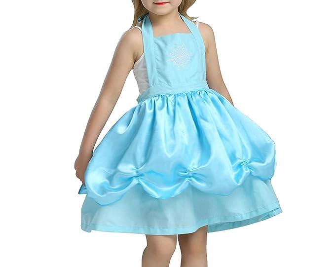 e6312b1f58555 Amazon.com: Girls Kitchen Apron Halloween Costume Child Princess ...