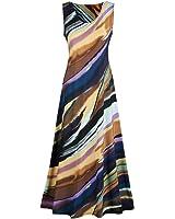 Women's Canyon Sky Sleeveless Maxi Dress