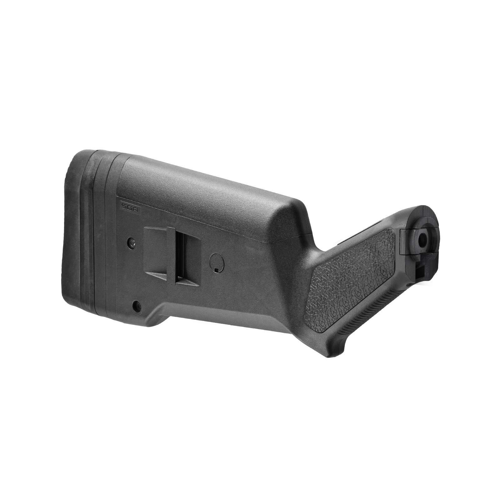 Magpul SGA Ambidextrous Butt Stock Mossberg 500/590/590A1 Shotgun, Black by Magpul