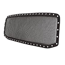 Paramount Restyling 46-0718 Evolution Black Stainless Steel Wire Mesh Packaged Grille, 1 Piece