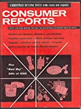 CONSUMER REPORTS Christmas Buying Issue: Blenders Typewriters Tricylces 11 1960
