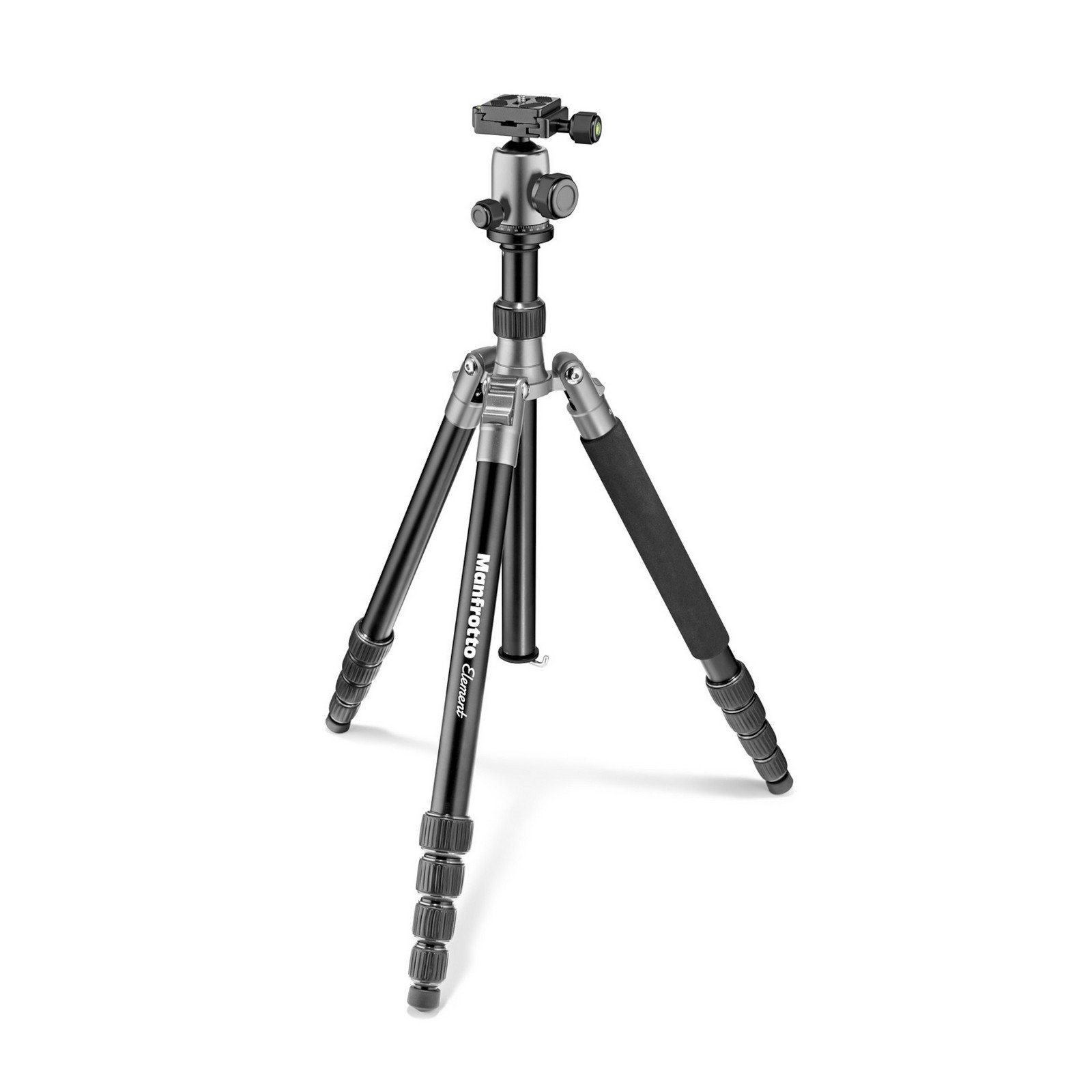 Manfrotto MKELES5GY-BH   Lightweight Tripod with Ball Head Gray