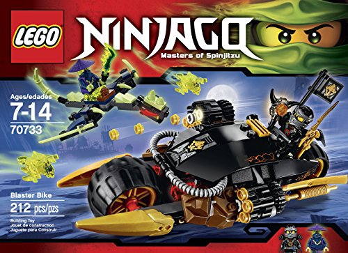LEGO Ninjago 70733 Blaster Bike Building Kit - Retro Bit Blocks
