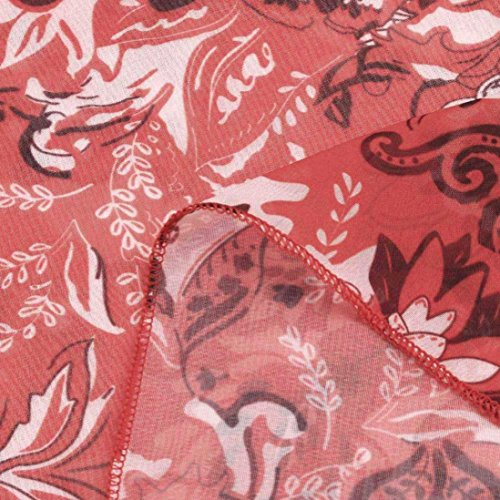 ImprimE DBut Haut Mousseline Chemisier d'automne Longues Jaysis en Rouge Manches Femme Polyvalent nw10zt4I4q