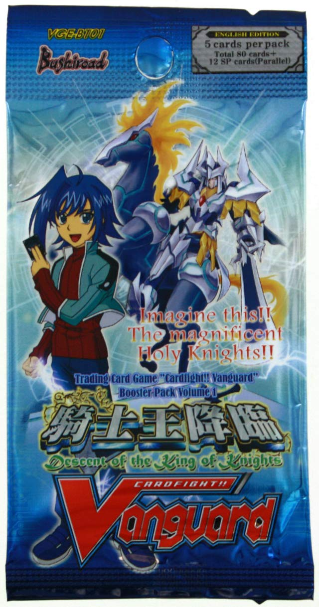 Cardfight   Vanguard Booster Display Volume 1 Descent of the King of Knights (30) english Bushiroad