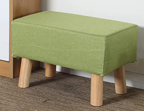 Poggiapiedi sgabello divano 51.5 * 33cm del tessuto del sgabello del