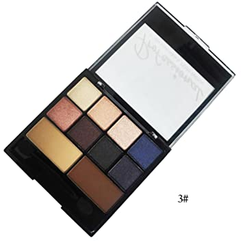 Eyeshadow Powder🌸DEESEE(TM)🌸Waterproof 10 Colors Portable Textured Pallete Faced Matte