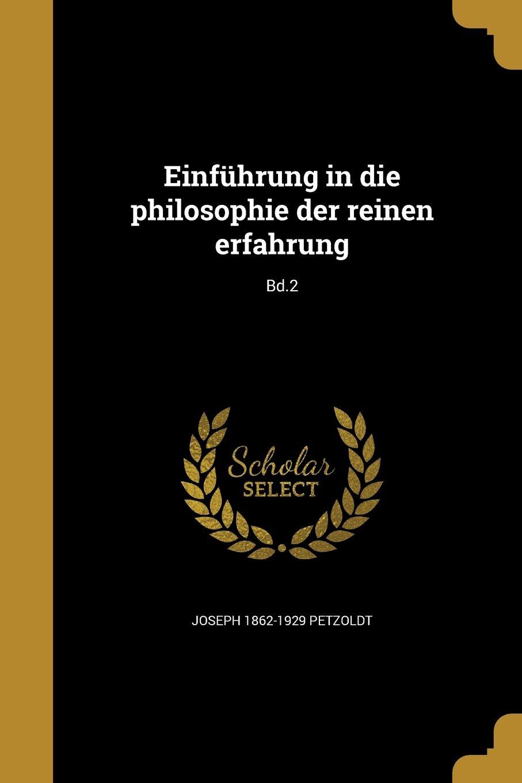 Einfuhrung in Die Philosophie Der Reinen Erfahrung; Bd.2 (German Edition) pdf epub