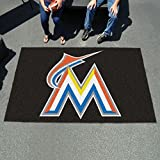 "K&A Company Ulti Mat 60""x96"" Nylon Carpet - Florida Marlins"