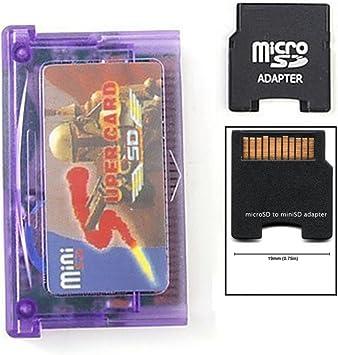 Amazon.com: mentalkase® Mini SD a Super adaptador de tarjeta ...
