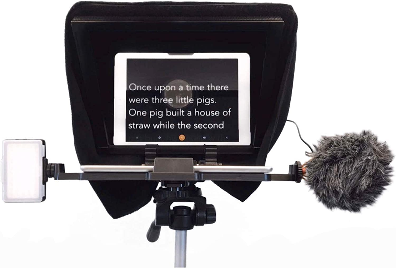 Caddie Buddy Professional and Portable Teleprompter with Optional Aluminum Case