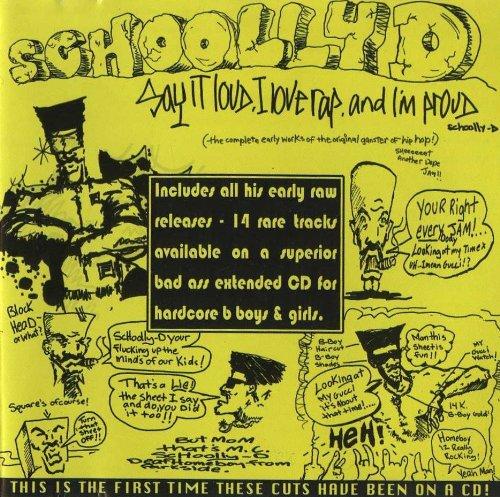 Say It Loud, I Love Rap & I'm - Schooly D Cassette