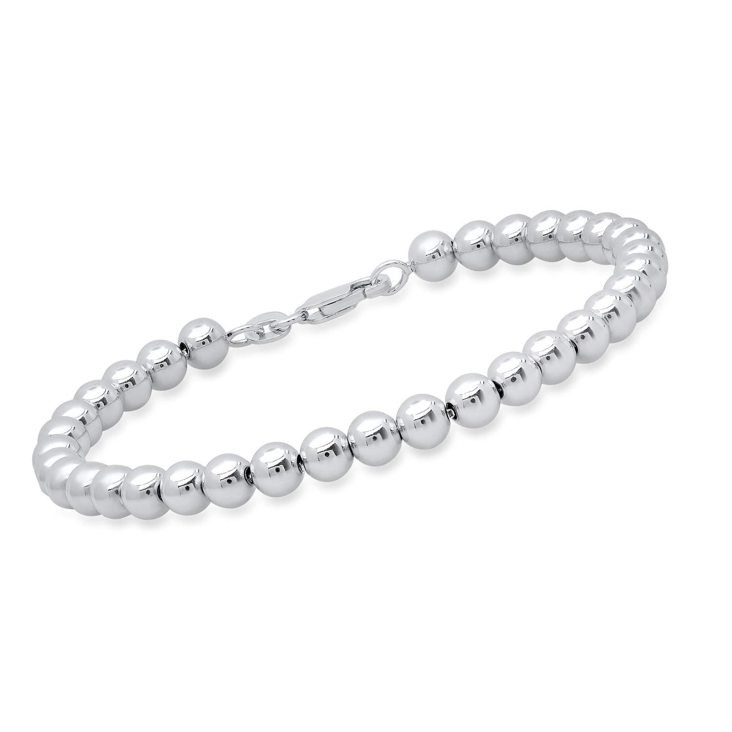 Sterling Silver Ball Chain Bracelet with Lobster Claw, 7 inches by Parade of Jewels