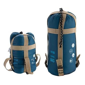 LOLIVEVE Mini Saco De Dormir Ultraligero De 1900 * 750Mm Sacos De Dormir del Sobre Al Aire Libre Bolsos De Viaje: Amazon.es: Deportes y aire libre