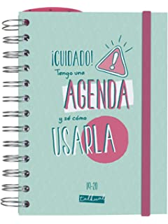 Agenda escolar 2019/2020 día página S Carouge: Amazon.es ...