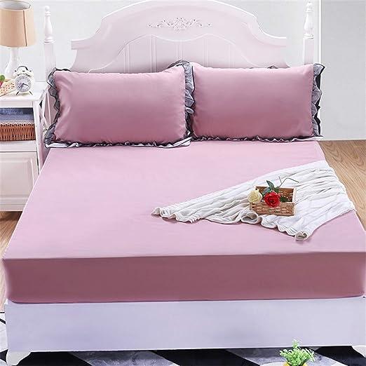 BBQBQ Protector de colchón Impermeable. Cubre colchon con ...