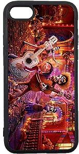 JNKPOAI Disney Coco iPhone 7/8/SE Case Anime Custom TPU 7/8/SE iPhone Case (Coco)