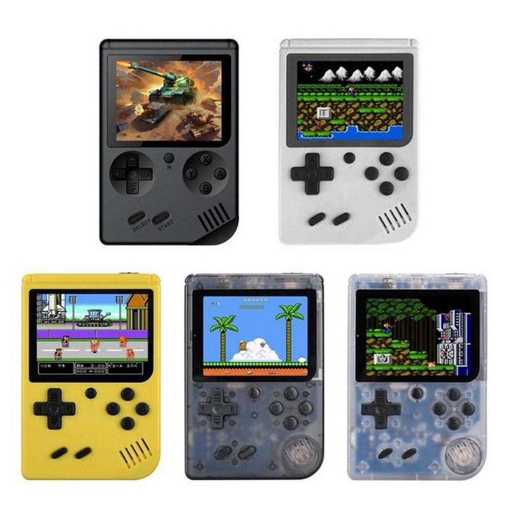 melysUS Portable Built-in 168 Games Mini Handheld Game Console Handheld Games
