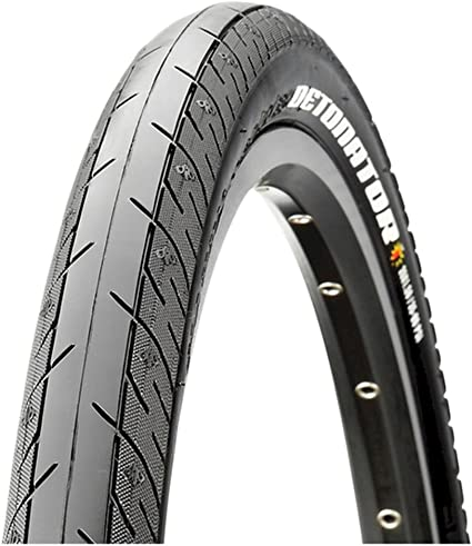 Maxxis Detonator 700x25C Tyre Road Racing Bike Bicycle Clincher Tire Black