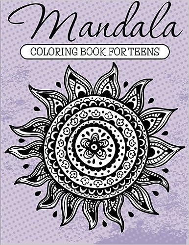Mandala Coloring Book For Teens: Amazon.de: Speedy Publishing LLC ...