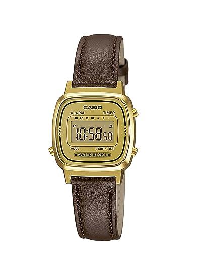 da41508e6572 Reloj Casio para Mujer LA670WEGL-9EF  Amazon.es  Relojes