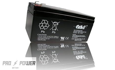 Casil 12 V 3 Ah 3.3 Ah SLA batería UPS 12 V 3,5 Ah 12 V 3.3 ...