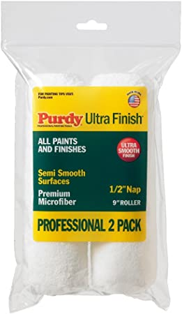 PURDY 140626053 6.5 x 1//2-Inch Roll Cover 2-Pack
