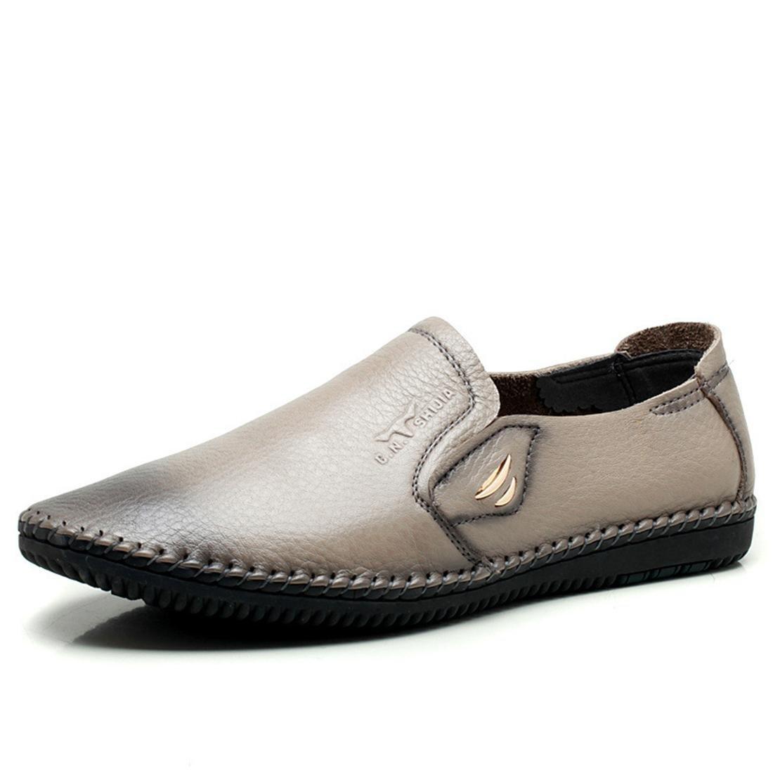Herren Mode Freizeit Lederschuhe Licht Gemütlich Flache Schuhe Rutschfest Lässige Schuhe EUR GRÖSSE 38-44