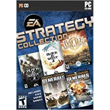 EA Strategy Collection (Black & White 2, Black & White 2 Battle of Gods, Command & Conquer Generals, Command & Conquer Generals Zero Hour, Lord of the Rings Battle for Middle Earth)