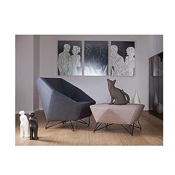 prostoria – Sitzsack Design 3 Winkel x2 plus rouge: Amazon.de: Küche ...