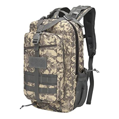 DDSOL Water Repellent Hiking Camping Backpack Compact Pack 35L