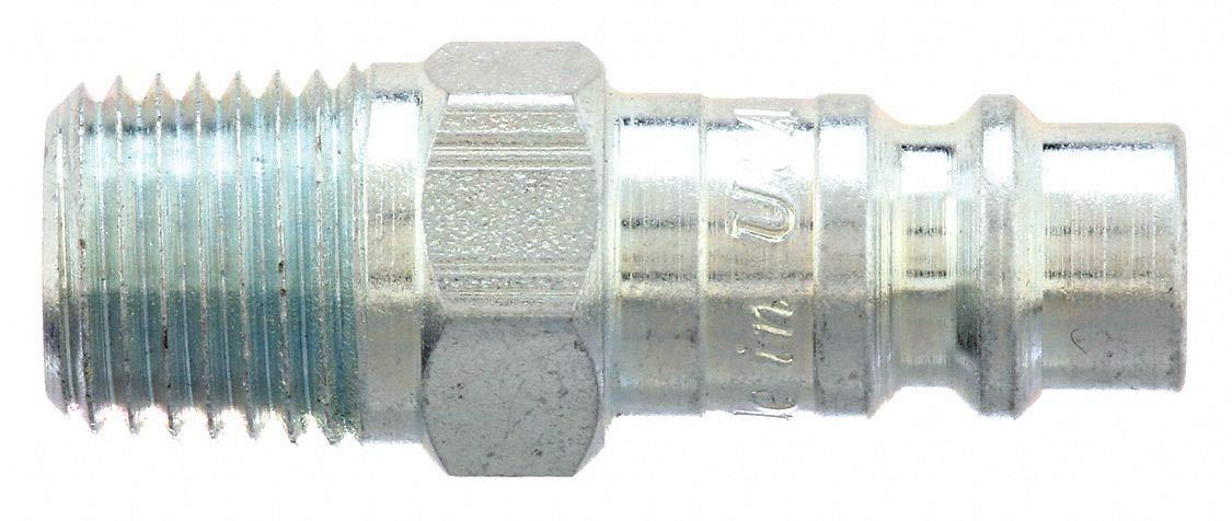 Pipe PARKER Coupler Body,Steel,MNPT,1//4 In RF-254-4MP