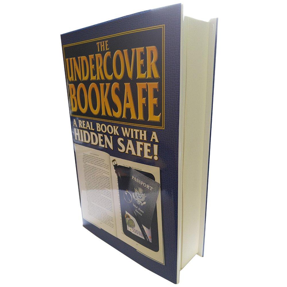 Streetwise falsos grande Hardbound Pistola de desviaci/ón libro seguro compartimento secreto