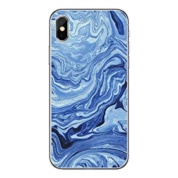 coque iphone xr silicone marbre