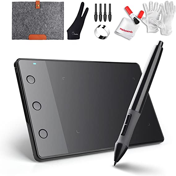 Amazon Com Huion H420 Usb Graphics Drawing Tablet Board Kit