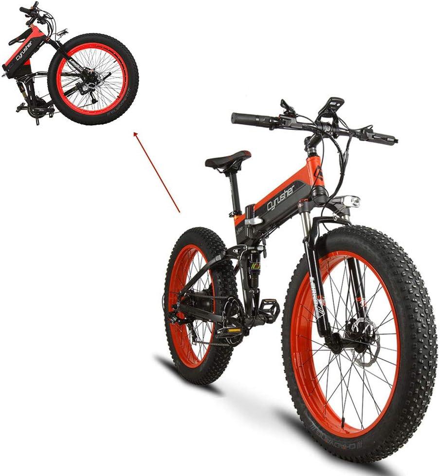 Extrbici Bicicleta Eléctrica Plegable XF690 500w 48v 10A ...