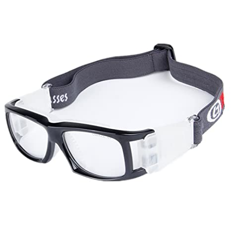 5fa868da2d5 Wonzone Basketball Football Avant-garde Fashion Sports Glasses Antifog Anti  Shock Collision Wearable Glasses Sports