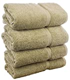 #8: Luxury Spa and Hotel Quality Premium Turkish 6-Piece Towel Set (Wedgewood, 2 x Bath Towels, 2 x Hand Towels, 2 x Washcloths)