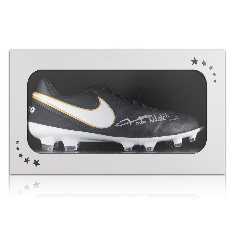 Fußballschuh von Paolo Maldini signiert. In Geschenkbox