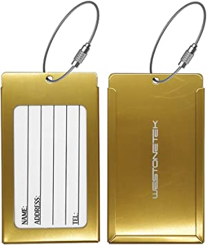Fashion Suitcase Labels Personalized Luggage Tags Baggage Address Case Card