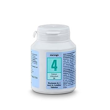 Schuessler Salz Nr 4 Kalium Chloratum D6 400 Tabletten