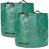 Cherlvy Garden Deciduous Storage Bag Reusable Foldable Garbage Bag PP Garden Garbage Bag