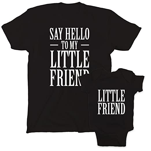 Amazoncom Fresh Cotton Say Hello To My Little Friend Scarface