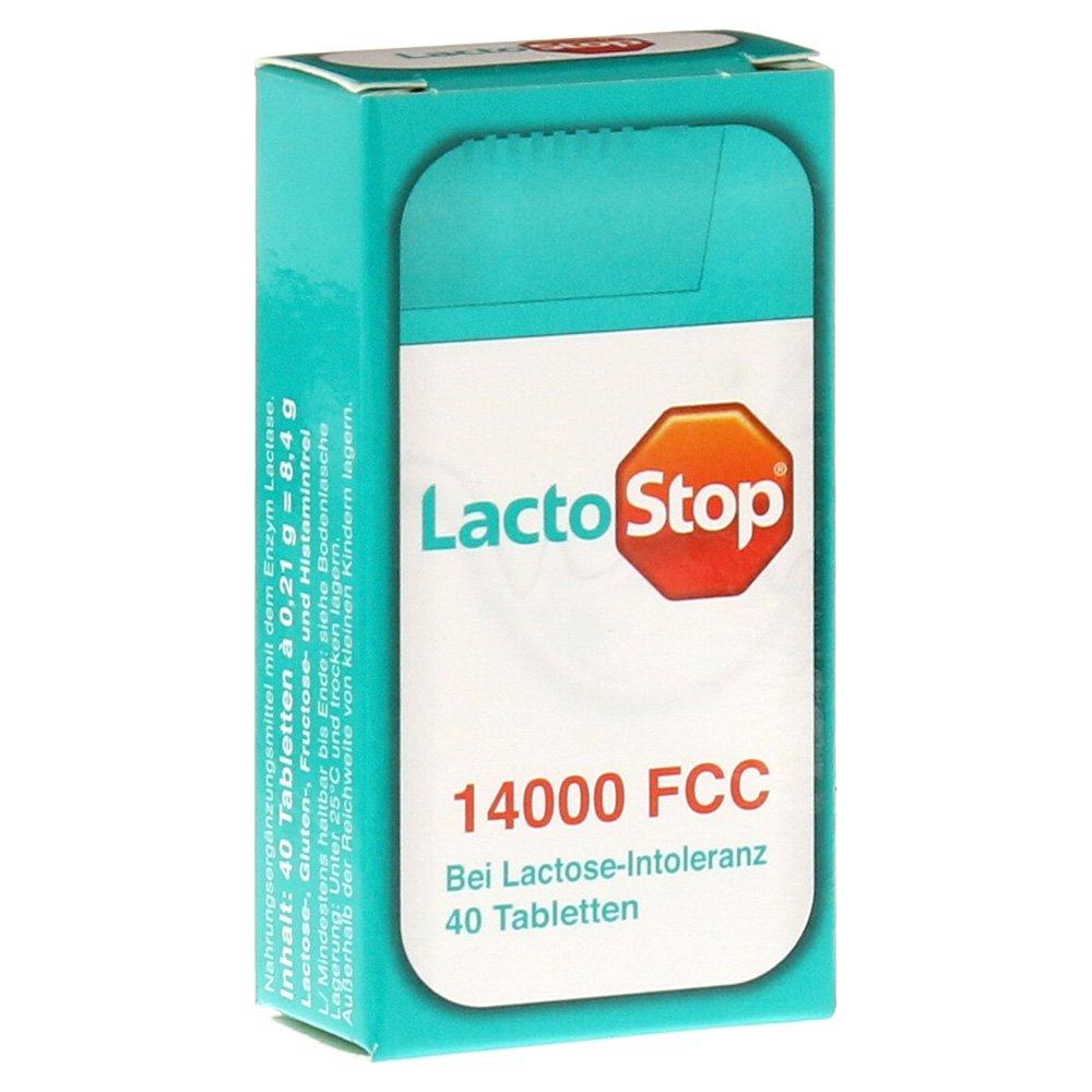 lacto Stop 14.000 FCC dispensador 40 pastillas): Amazon.es: Salud y cuidado personal
