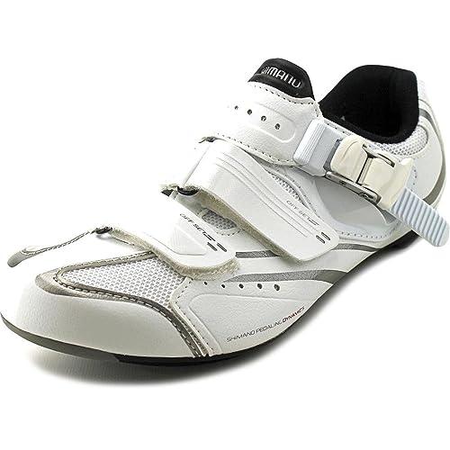 Shimano - Zapatillas de Ciclismo para Mujer Blanco Blanco: Amazon.es: Zapatos y complementos