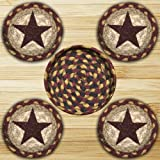 Earth Rugs 29-CB357BS Coaster Set, 5