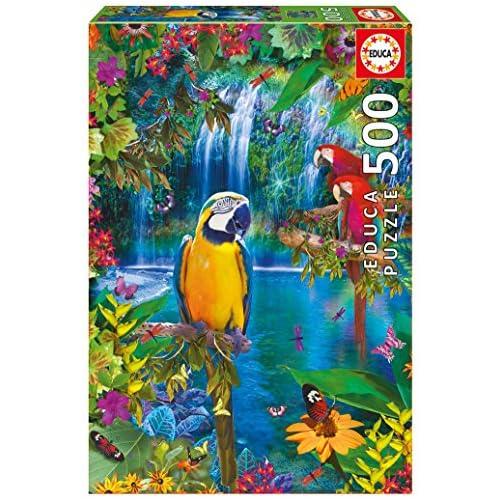 chollos oferta descuentos barato Educa Puzzle 500 Paraíso Tropical Piezas 29 15512